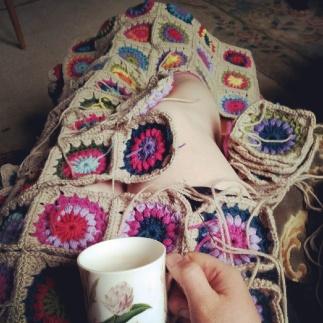 hard earned tea break