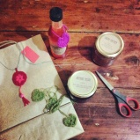 labelling jars and bags